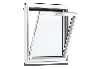 VELUX - VFE MK35 2066 - White painted, fixed vertical, triple glazing, 78x95
