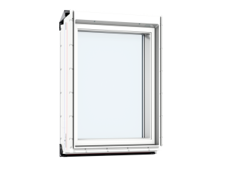 VELUX - VIU MK31 0060 - Maintenance free white PU, fixed vertical, noise reduction, 78x60